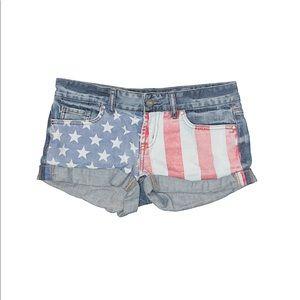 Victoria secret American flag shorts